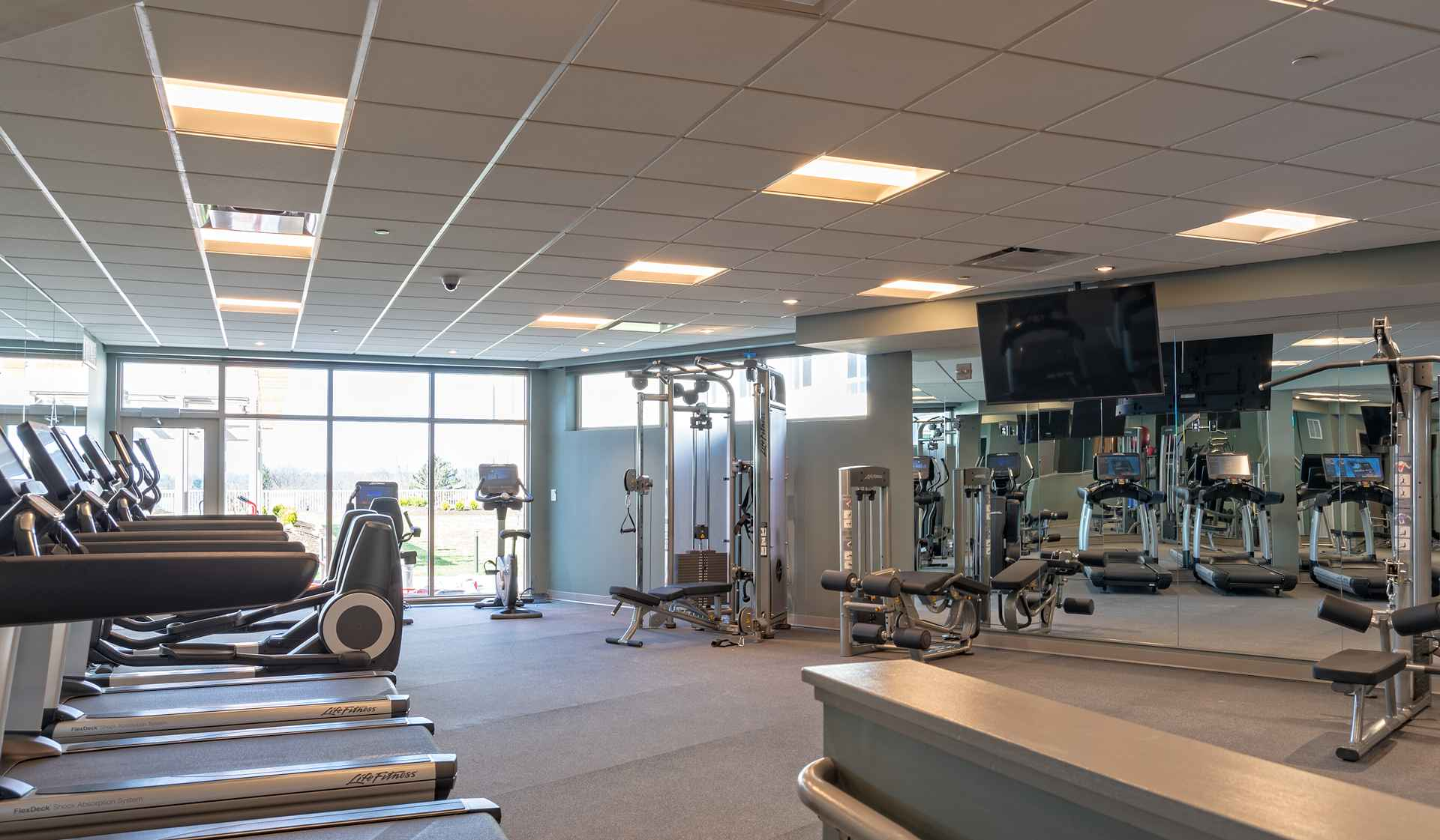 One Ardmore Place - Luxury Philadelphia Apartments - fitness center
