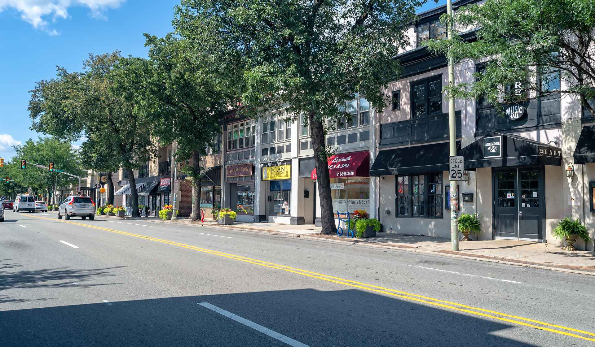 One Ardmore Place - Luxury Philadelphia Apartments - lancaster street shops